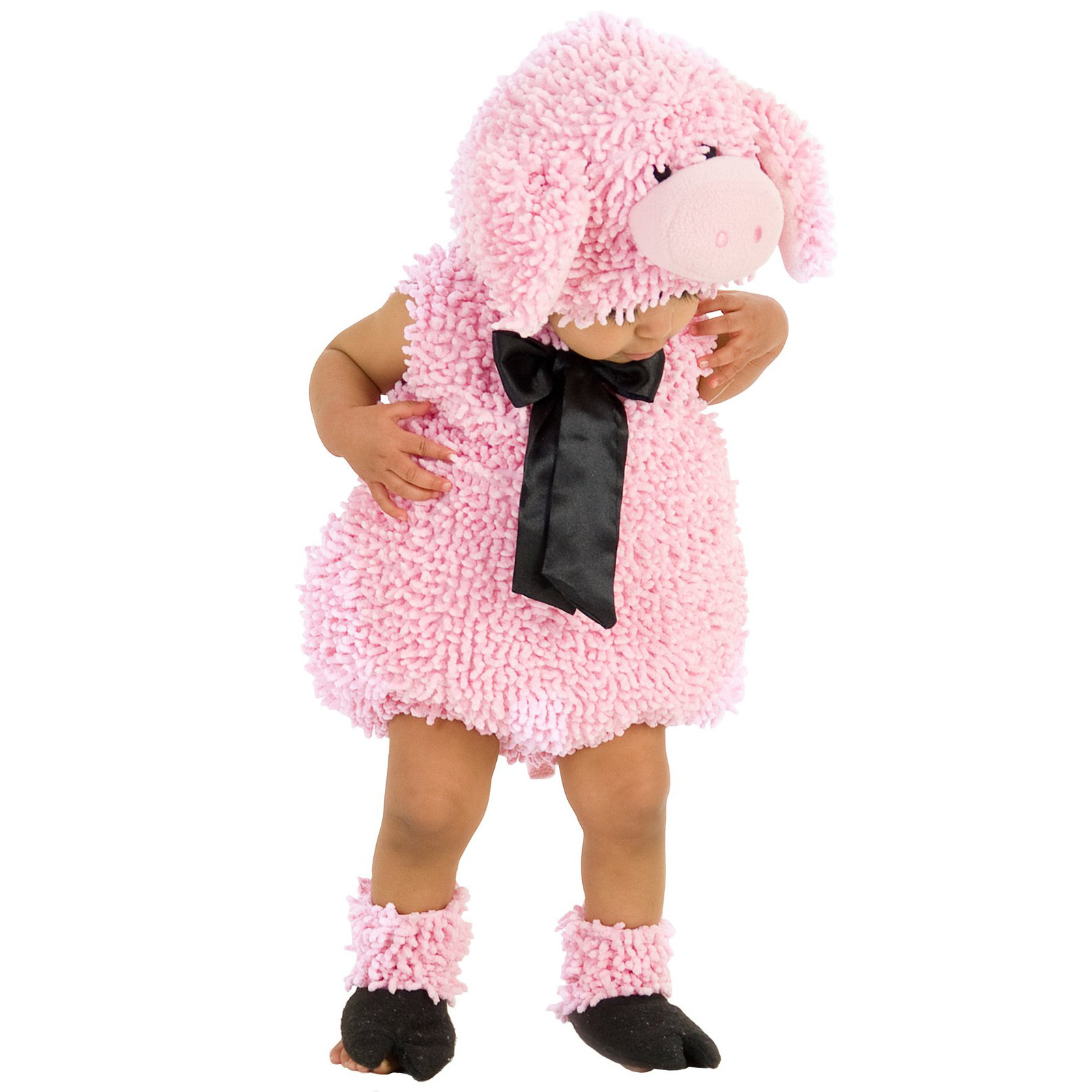BuySeasons Squiggly Pig Infant & Toddler Costume (Boy's & Girl's Infant 6-12 Months)