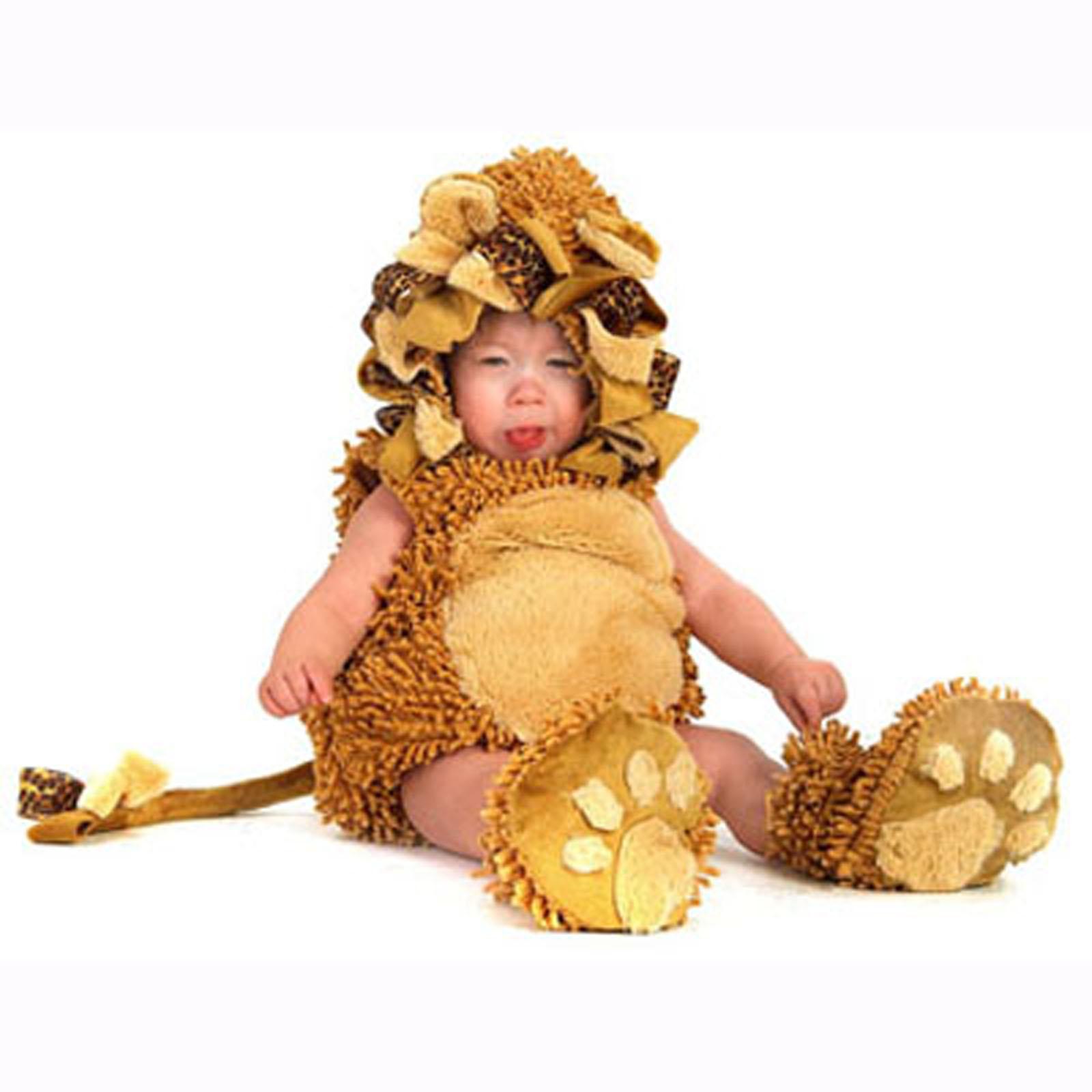 BuySeasons Little Lion Infant & Toddler Costume (Boy's & Girl's Infant 6-12 Months)