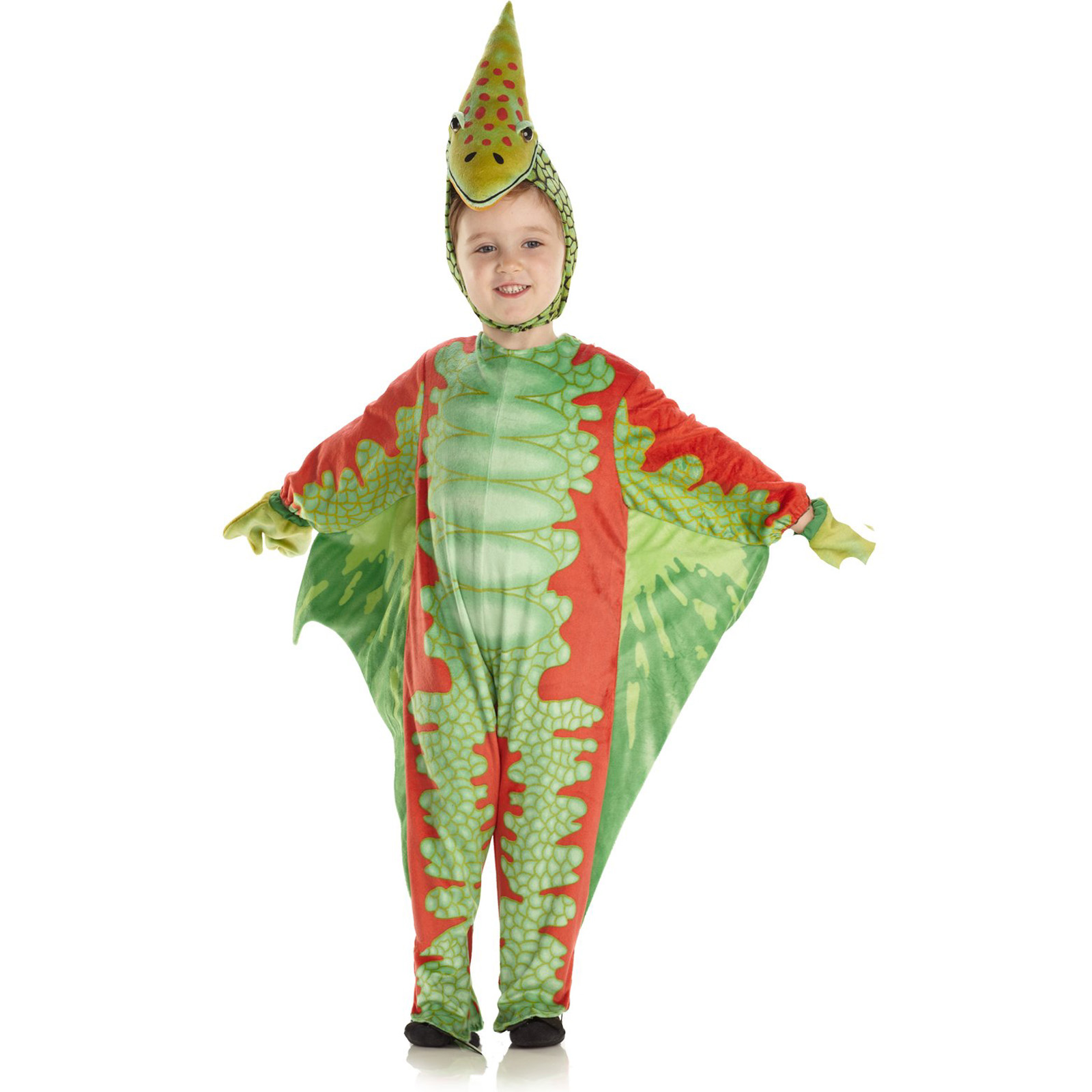 BuySeasons Red Pterodactyl Infant / Toddler Costume (Girl's Child 4-6)